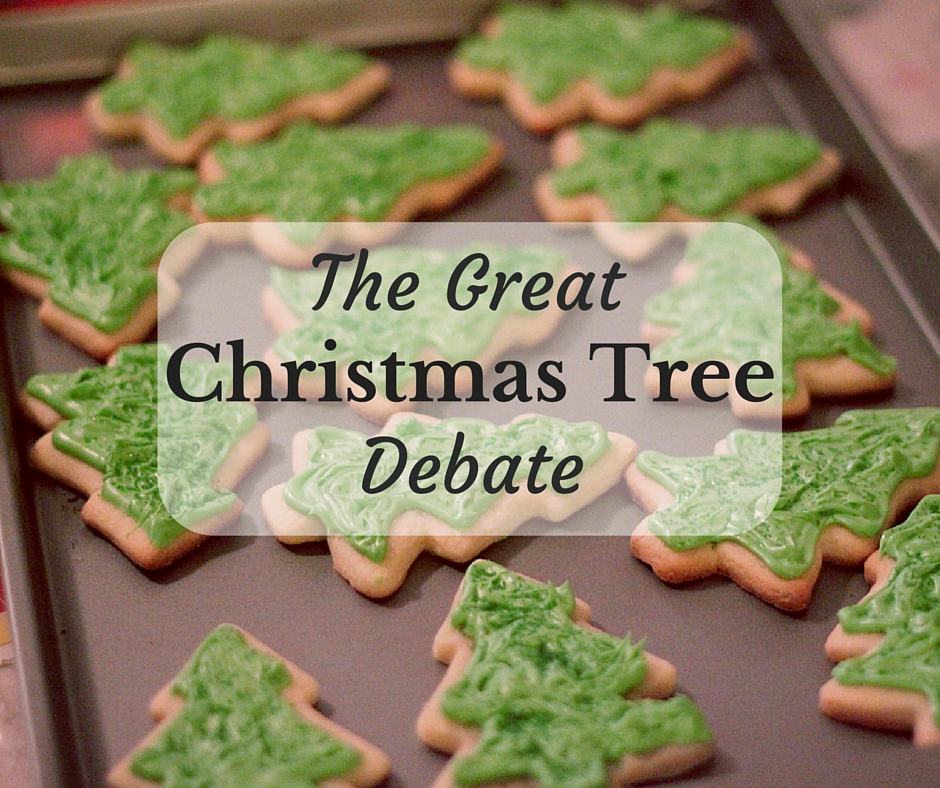 The Great Christmas Tree Debate